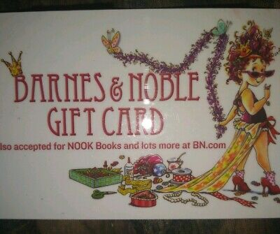 Barnes & Noble Used Collectible Gift Card NO VALUE Redheaded Girl