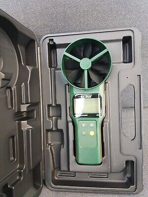 "Extech AN300, 4"" Large Vane CFM/CMM Thermo-Anemometer HVAC TESTING NEW OPEN BOX"