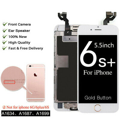 OEM iPhone 6S Plus Full Screen LCD Touch Digitizer Display Gold Button &Camera