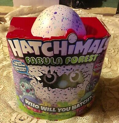 Hatchimals Fabula Forest  Who Will You Hatch Damaged Package