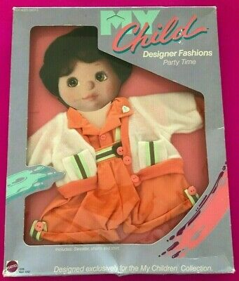 My Child Doll Mattel Party Time Cardigan Set, Mint In Box