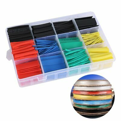Equipment Tube Tool Assorted 2:1 Heat Shrink Tubing Wire Wrap Kit Cable Sleeve