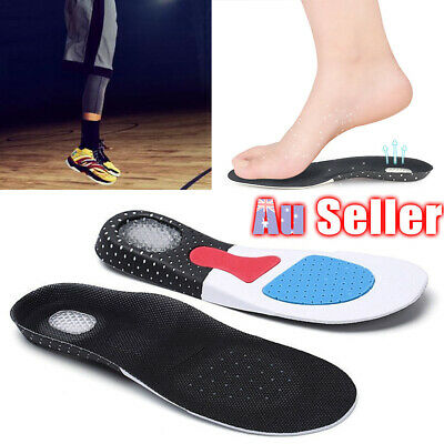 Arch Correcting Pads Plantar Orthotic Insoles Fasciitis Relief Flat Foot Support