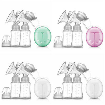New USB Electric Breast With Milk Storage Bottle And Nipple For Baby Breastfeed