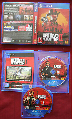 PS4 , jeu RED DEAD REDEMPTION II,  comme neuf