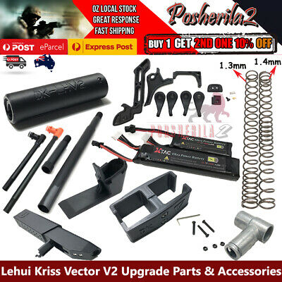Lehui Kriss Vector V2 Upgrade Accessories Modified Parts LH Gel ball Blaster Toy