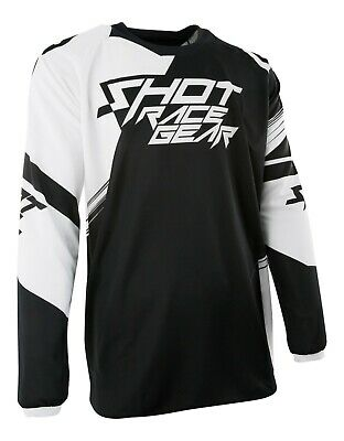 Shot Contact Motocross Jersey Claw Black / White Mx Enduro - Reduced To Clear