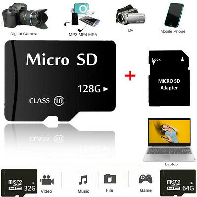 Micro SD Card 32GB 64GB128GB Extreme Pro TF SDHC SDXC Class10 Memory +Adapter AU