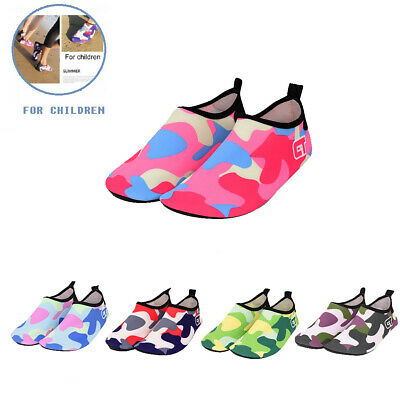 Kids Water Shoes Barefoot Quick Drying Soft Boy's Girl's Beach Shoes Swim Diving