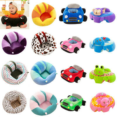 Kids Baby Toddler Support Seat Sit Up Chair Cushion Sofa Plush Pillow Pad Toy