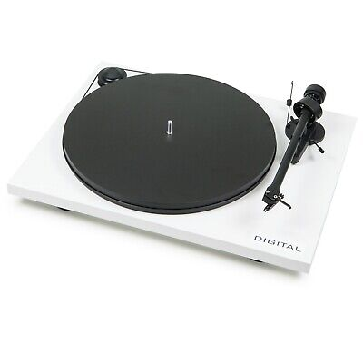 Pro-Ject Essential II Digital (White) - FACTORY OUTLET STOCK
