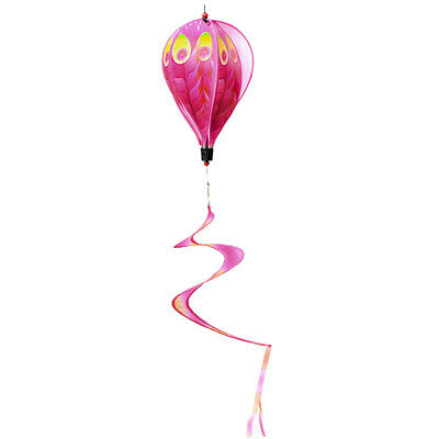 1pc Colorful Hot Air Balloon Wind Spin -Peacock,Waterproof And Durable