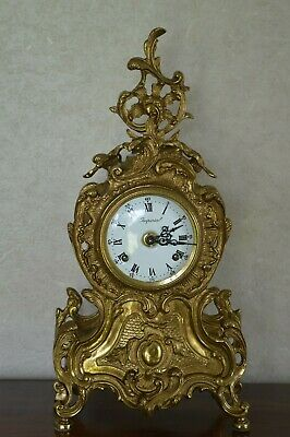 Imperial Franz Hermle Italian Gilt Mantle Clock