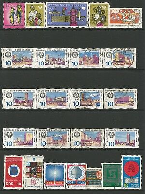 Germany ( Ddr) Large Mixed Unmounted Mint And Used Collection From Late 60'S