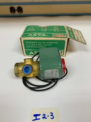 Asco Red-Hat Direct Acting Solenoid Valve 8320 A 184 *NEW* W/ Box Fast Shipping!