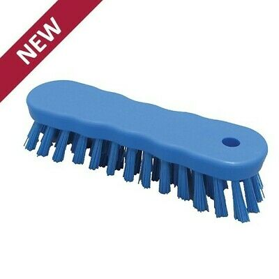 180mm Hillbrush Foodservice Small Scrubbing Brush Hygiene Kitchen Catering Bar