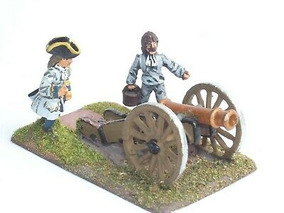 British Cannon Crew 25mm scale hobby casting Prince August moulds molds PA522