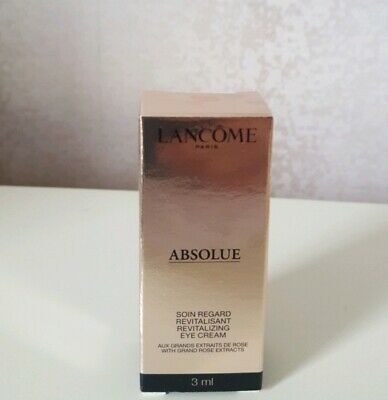 Lancome Absolue Revitalizing Eye Cream 1 x 3ml Rose Extracts