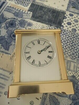 Elliott Carriage Clock Made In England With French Escapement