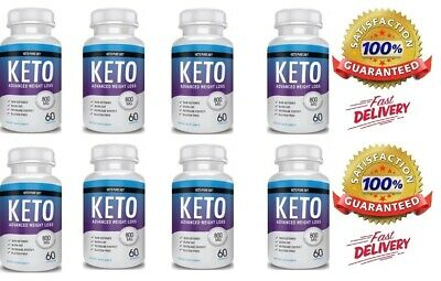 8 X Pure Keto Diet Advanced Weight Loss - Fast & Free  Delivery