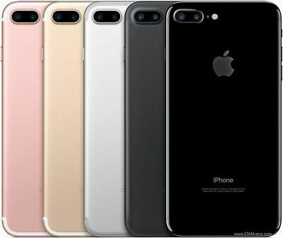 Apple iPhone 7 Plus 32GB/ 128GB Unlocked Black/ Silver/ Gold 4G LTE Smartphone