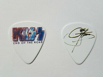 2019 End Of The Road KISS Logo Gene Simmons Concert Guitar Pick