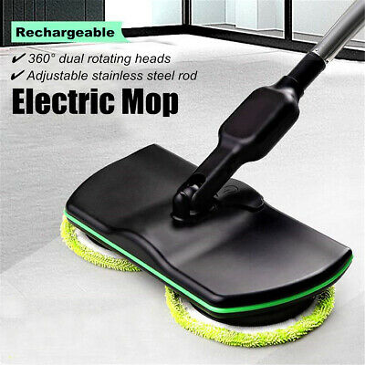 Wireless Rotary Electric Rechargeable Floor Mops Home Cleaner Scrubber