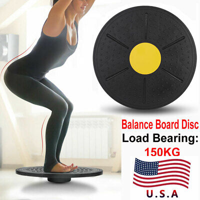 Wobble Yoga Balance Board Disc Gym Stability Pad Pro Training Fitness Exercise