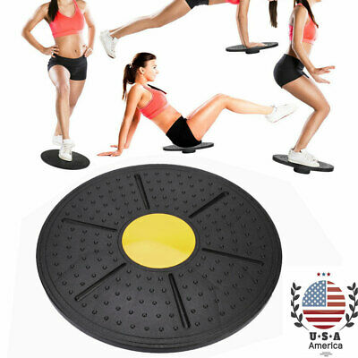 Wobble Balance Board Stability Disc Yoga Training Muscle Fitness Exercise B9F2Z
