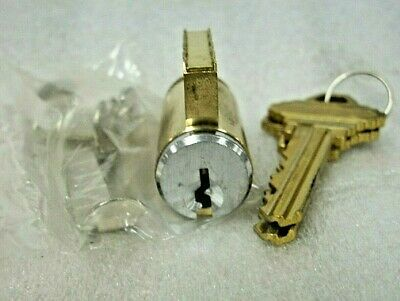 Lot of 8 GMS Knob Cylinders-Schlage E Keyway-NOS. In Box-LOCKSMITH-Satin Chrome