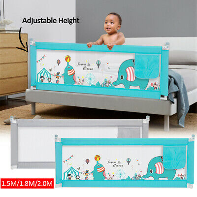 1.5M/1.8M/2M Kid Child Bedguard Toddler Safety Bed Rail Guard Rail Folding !
