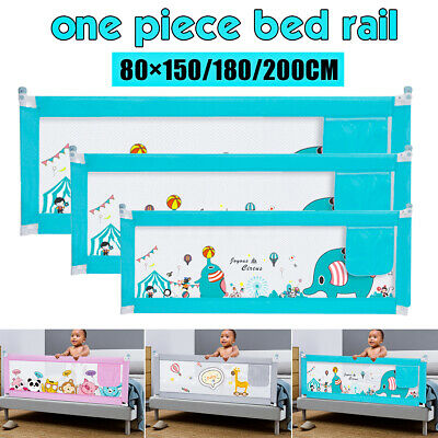 1.5M/1.8M/2M Kid Child Bedguard Toddler Safety Bed Rail Guard Rail Folding
