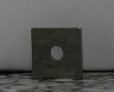 .127 Square Steel Gage Block