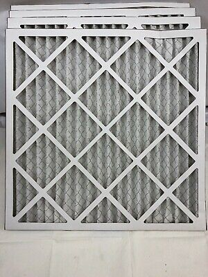 Aerostar 20x20x1 MERV 8 Pleated Air Filter, Made in the USA, 4-Pack