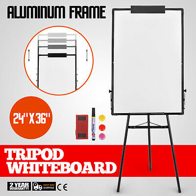 Tripod  School Mobile Whiteboard On Wheels with Stand 36*24 White Board Magnetic