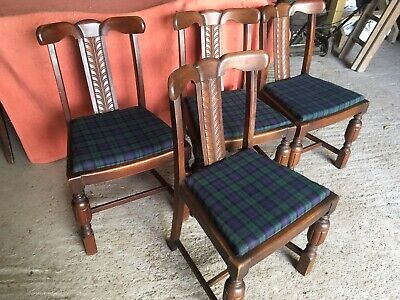 Set Of 4 Vintage/Mid Century Dining Chairs.