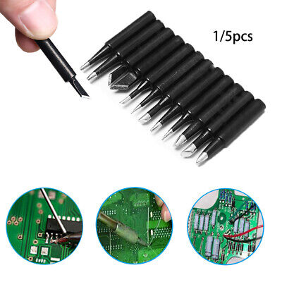 Copper Replacement Soldering Iron Tip Lead Free Solder Electric Welding Tool