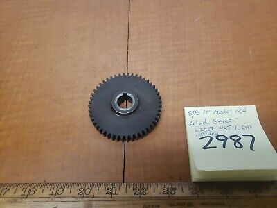 "Southbend lathe 11"" Model 184 Stud Gear 48t .625 Id 16dp"
