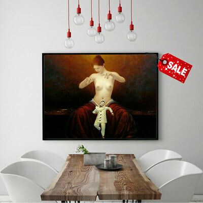 Wall Art Picture Painting Andrew Malinowski Puppeteer HD Print Canvas Deco 12x16