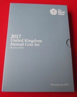 2017 Royal Mint Annual Brilliant Uncirculated 13 Coin Set