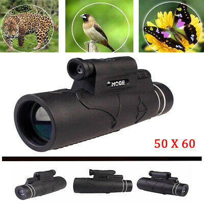Handheld Monocular 50X Magnification Optic Lens Prism Monocular Scope Wide Angle