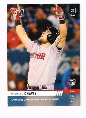 2019 Topps Now Michael Chavis #267 Sp 592