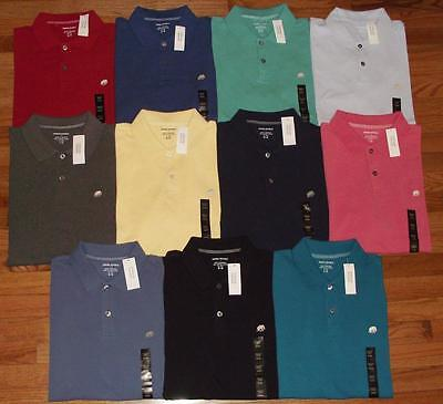 NWT NEW Mens Banana Republic Pique Polo Shirt Elephant Logo Choice of 16 Colors