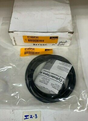 New Parker KT100VP101 Pneumatic Cylinder Repair Kit In Sealed Bag Fast Shipping!