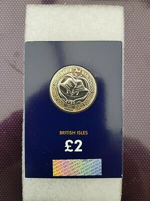 2018 Isle of Man Royal Wedding Harry and Meghan CERTIFIED BU £2 Two Pound Coin