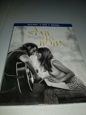 A Star Is Born (Blu-ray and Dvd, no digital  2019)