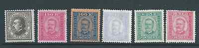 Portugal Nice Lot 1882-92 Issues Mint Hinged See Both Scans Condition High Cat!