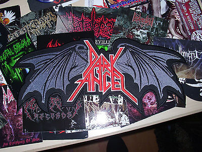 Shape Logo Patch Backpatch XXL Thrash Metal Anthrax Overkill