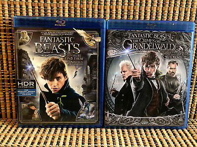 Fantastic Beasts 1&2: Where to Find Them/Crimes of Grindelwald (2-Disc Blu-ray)