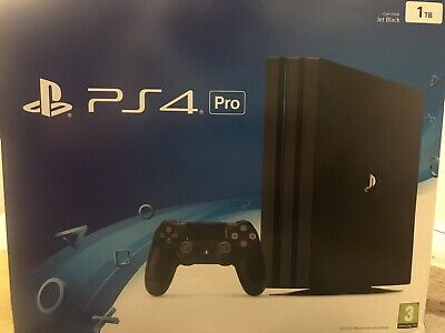 Sony PlayStation 4 Pro 1TB Console - Black With 6 Games